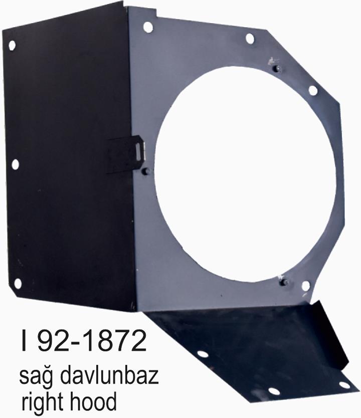 SMX SL200-300-400I 92-1872 Sağ Davlumbaz