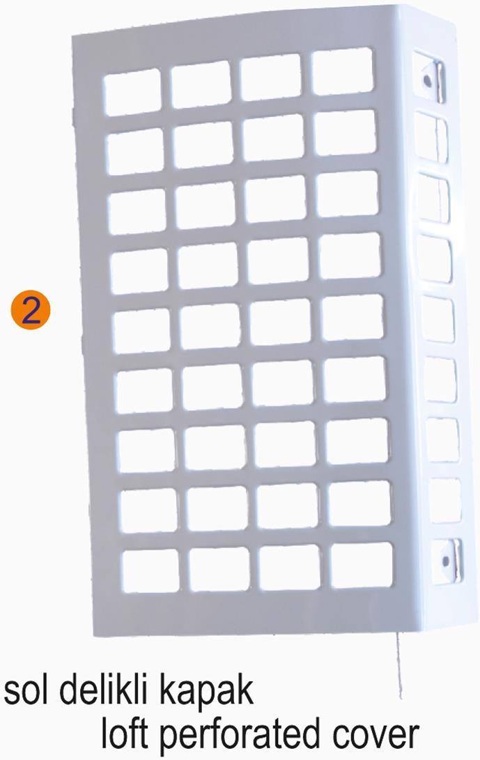 SMX 1-2-sr+ Sol Delikli Kapak