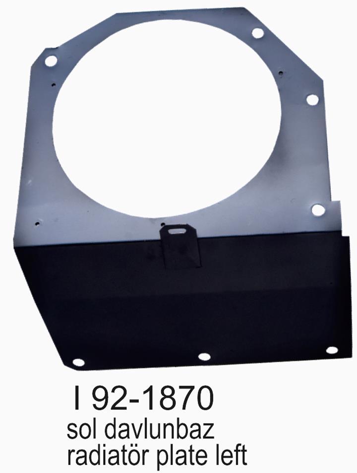 SMX SL200-300-400I 92-1870 Sol Davlumbaz