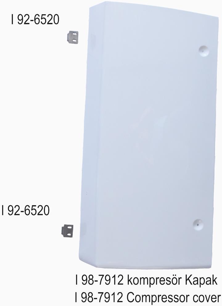 SLX I 98-7912 Kompresör Kapak