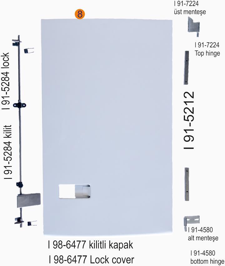 SMX 1-2-sr+ I 98-6477 Kilitli Kapak